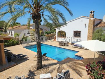 Open Valley View Luxusvilla zum Verkauf in Moraira Alicante